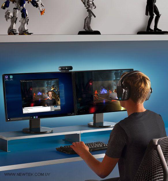 Web Cam Logitech BRIO 960-001105 Ultra HD Pro 4K 90Fps STREAMING Microfono  Dual | NewTek Computers